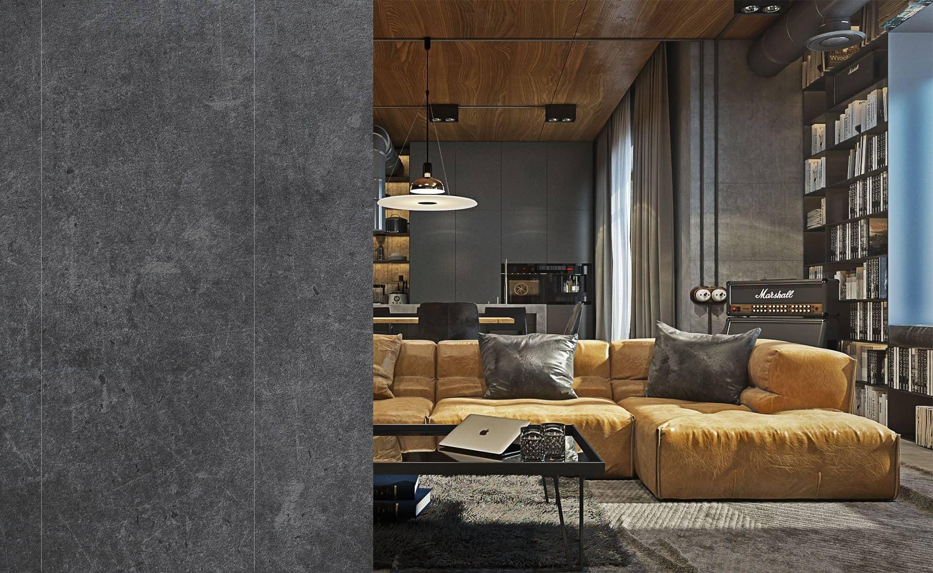 Проект дизайн интерьера квартиры Одесса