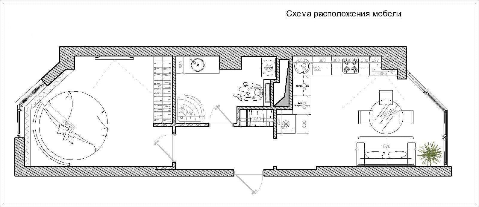 Проект планировки квартиры