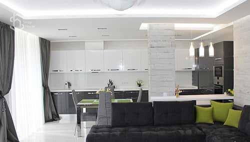 Дизайн проект кухня под ключ - фото
