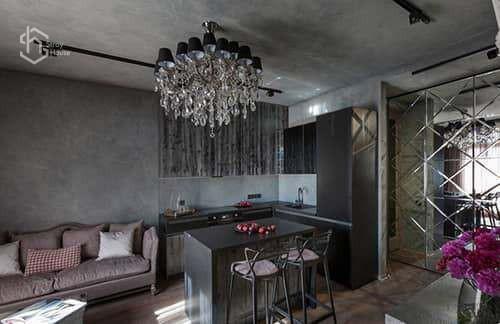 Дизайн проект квартиры в Одессе фото