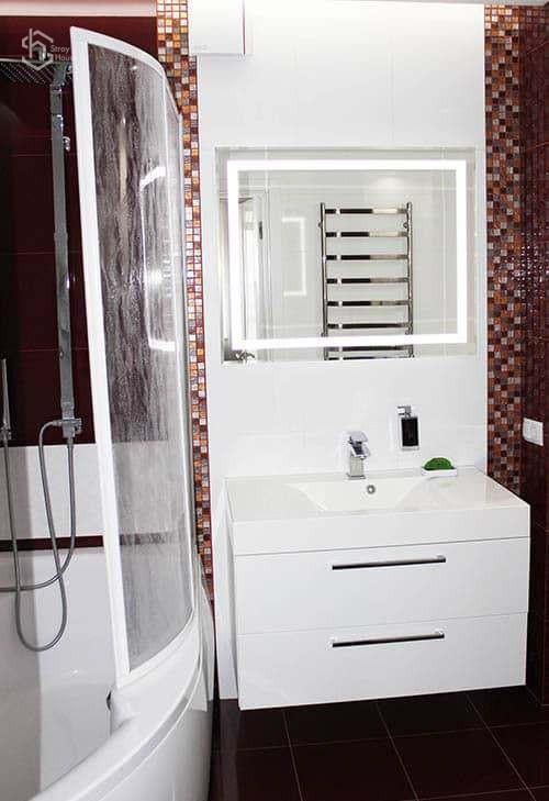 Ремонт в туалете фотографии