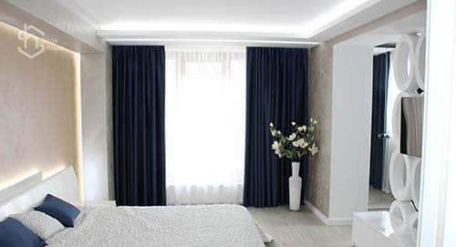 Ремонт спальни - фотог ремонта под ключ