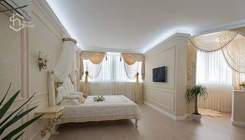 Дизайн спальной в Одессе фото