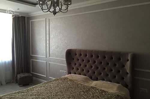 Ремонт спальни премиум класса фотографии