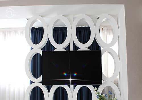 Проект дизайна спальной комнаты