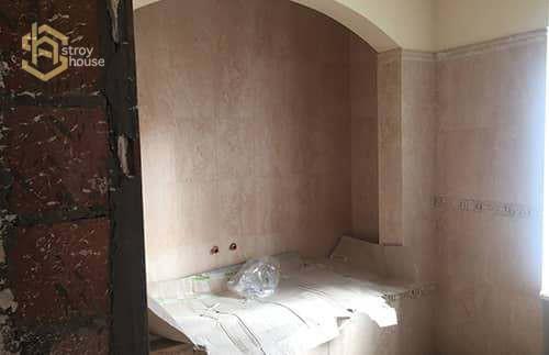 Портфолио ремонт ванной вчастном доме