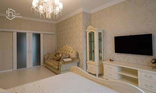Классический дизайн спальни фотографии
