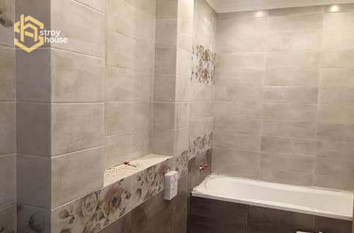 Ремонт ванной в доме фото работ