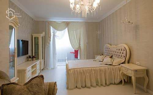 Дизайн спальни классика фото