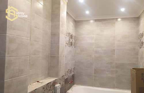 Ремонт ванной в доме портфолио работ