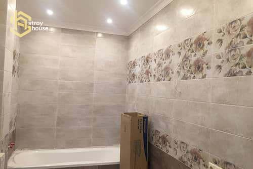 Ремонт ванной в доме фотографии