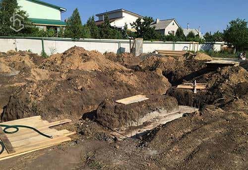 Залить фундамент в Одессе