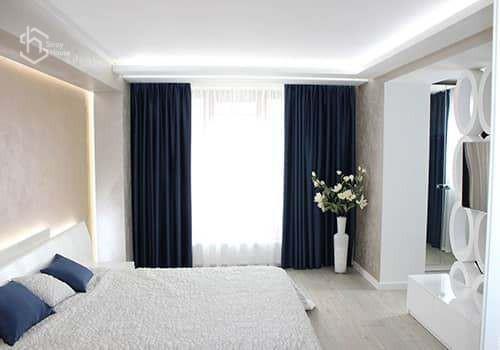 Фото ремонта спальни в Одессе