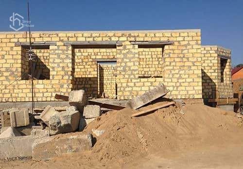 Кладка стен дома и внутренних перегородок