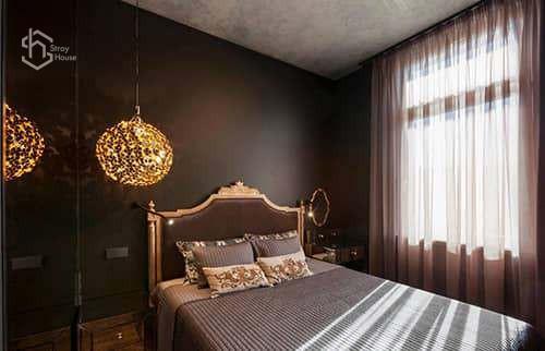 Элитный ремонт спальни фотографии