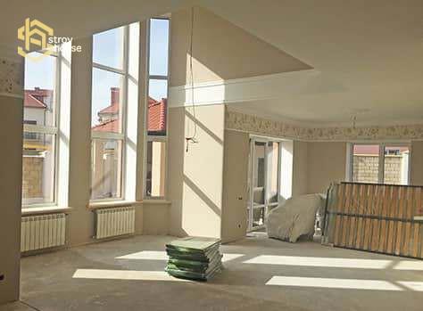 Фото ремонта частного дома в Одессе
