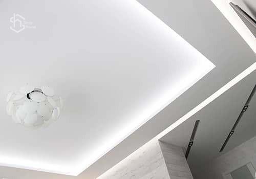 Электричество подвесные потолки фото