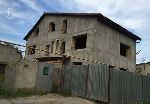 Фото строительства дома с нуля