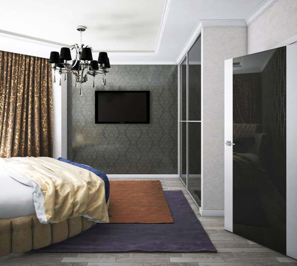 Дизайн спальни физуализация