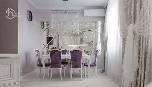 столовая комната ремонт