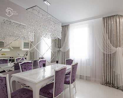 Столовая комната фото дизайна