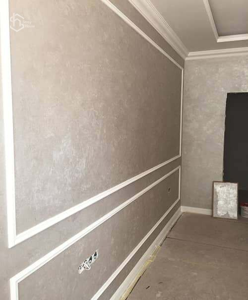 Ремонт стен: шпаклевка и покраска фотографии