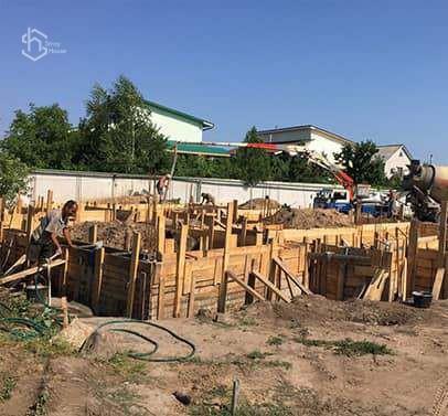 Строительство фундамента Одесса