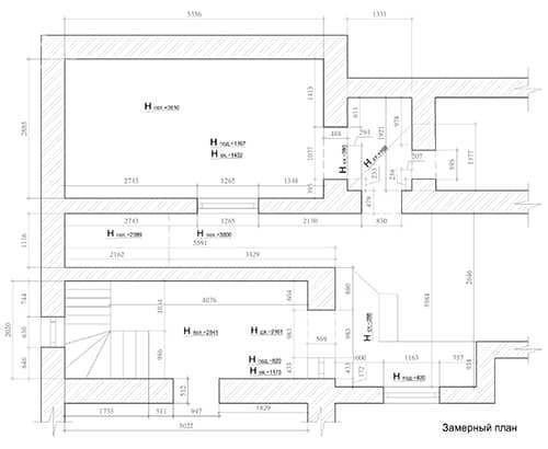 Схема проекта квартиры