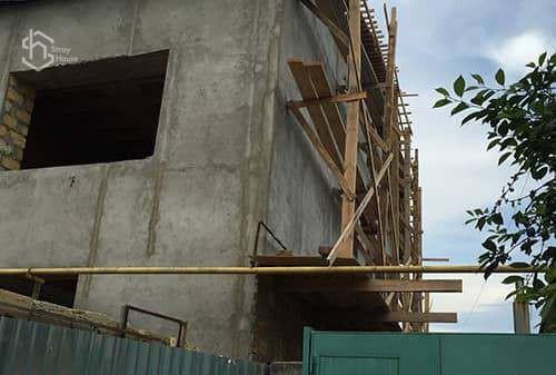 Портфолио строительство домов в Одессе