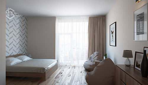 Ремонт спальни - дизайн