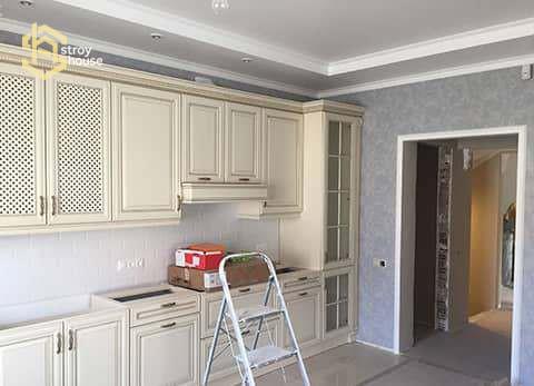 Ремонт кухни в частном доме фото
