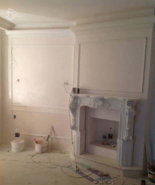 Ремонт стен и потолка фотографии