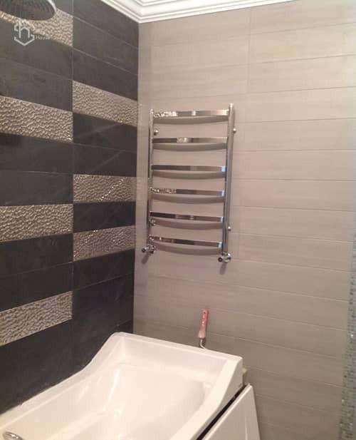 Ремонт ванной, установка сантехники фотографии
