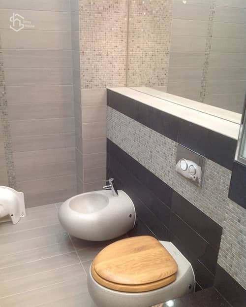 Ремонт в ванной и туалете фото
