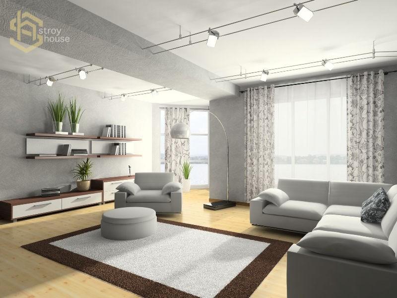 Модный дизайн квартиры фото 1